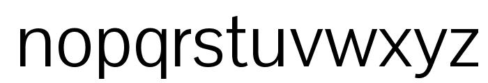 Pontano Sans Font LOWERCASE