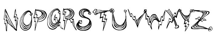 PonyRides Font UPPERCASE