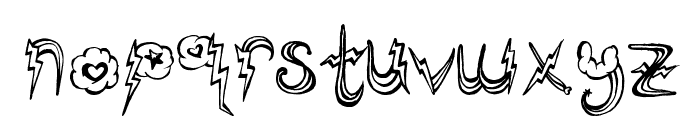 PonyRides Font LOWERCASE