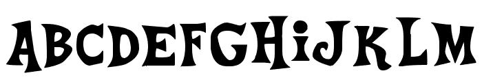 Ponyville Medium Font LOWERCASE
