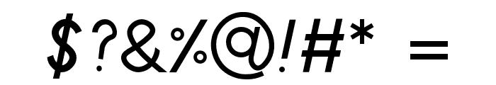 Poolside Regular Font OTHER CHARS