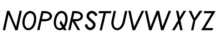 Poolside Regular Font UPPERCASE
