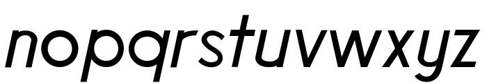 Poolside Regular Font LOWERCASE