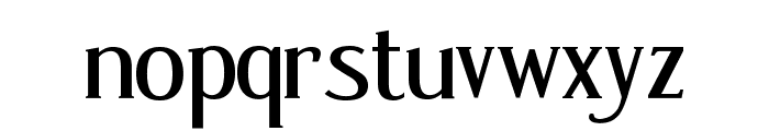 Poor Little Peppina Font LOWERCASE