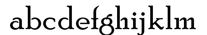 PoorRichardOpti Font LOWERCASE