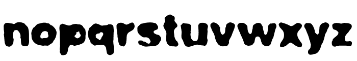 Poorhouse Font LOWERCASE