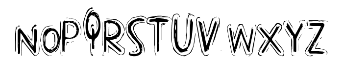 PopCap Font LOWERCASE