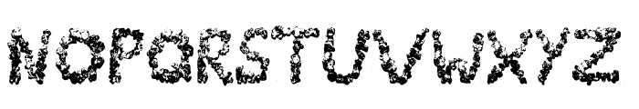 PopCornFont Font LOWERCASE
