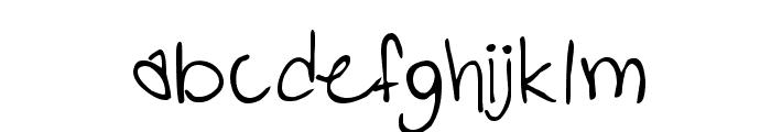 PopStar Autograph Font LOWERCASE
