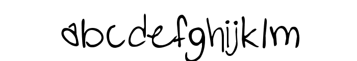 PopStarAutograph Font LOWERCASE