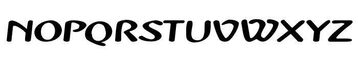 PopUp Font UPPERCASE