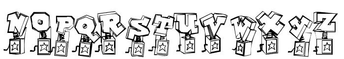 PopUpFontio-Regular Font UPPERCASE