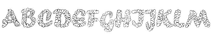 PopcornEBO Font UPPERCASE