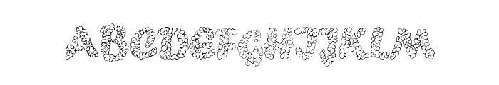 PopcornEBO Font LOWERCASE