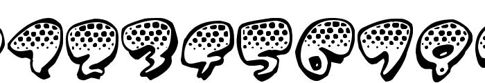 Poppydot Font OTHER CHARS