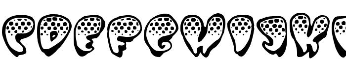 Poppydot Font LOWERCASE