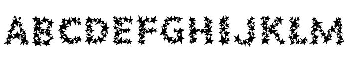 Popstars Fill Font LOWERCASE