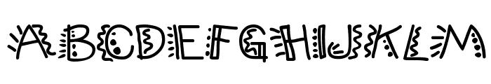PopticsThree Font UPPERCASE