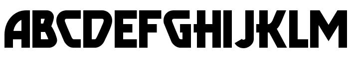 Popular Cafe NF Font UPPERCASE
