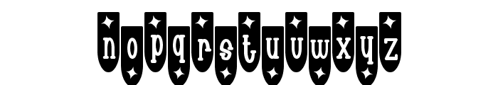Populuxe Trink Font LOWERCASE