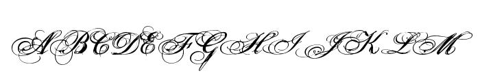 Porcelain Font UPPERCASE