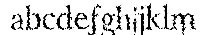 PorcupineRoman Font LOWERCASE