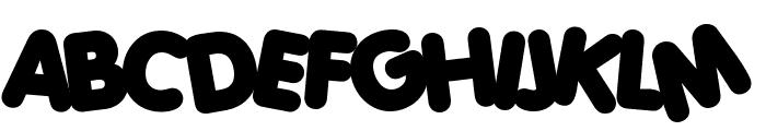 Porky's Heavy Font UPPERCASE