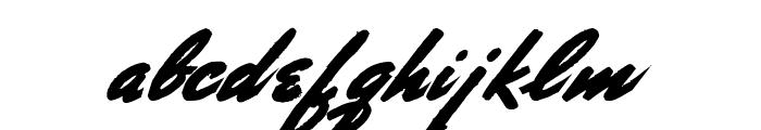 Porongo Font LOWERCASE