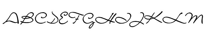 Porosa Font UPPERCASE