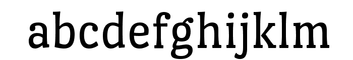 Port Lligat Slab Font LOWERCASE
