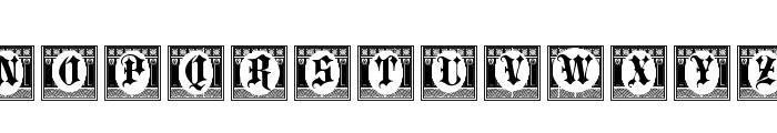 Portculliard Initials Font UPPERCASE
