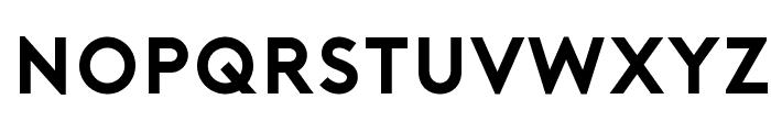 Porter Bold DEMO Font UPPERCASE