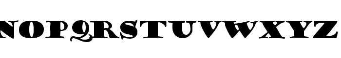 Porter Regular Font UPPERCASE