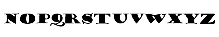 Porter Regular Font LOWERCASE