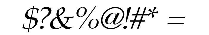Portland LDO Italic Font OTHER CHARS