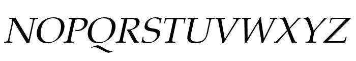 Portland LDO Italic Font UPPERCASE