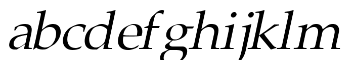 Portland LDO Italic Font LOWERCASE