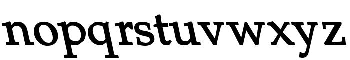 Portland LDO Sinistral Bold Font LOWERCASE