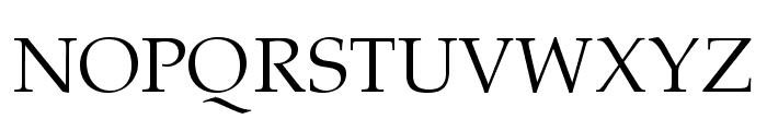Portland LDO Font UPPERCASE