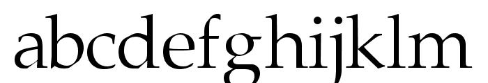 Portland LDO Font LOWERCASE