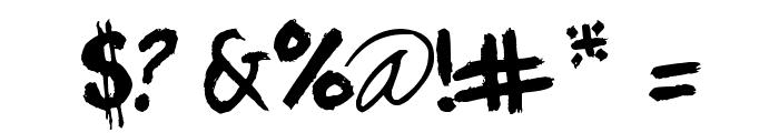 Portland Font OTHER CHARS