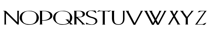 PortlandRoman Bold Font LOWERCASE