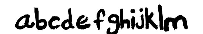Portland Font LOWERCASE
