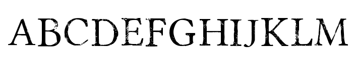 Portmanteau-Regular Font UPPERCASE