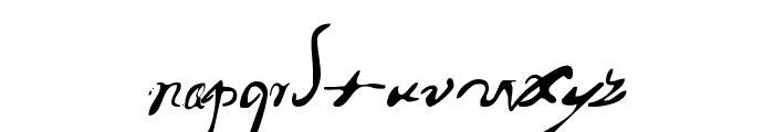 PortuguesArcaicoLectura Font LOWERCASE