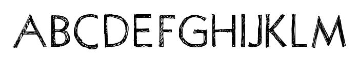 PositivA Font UPPERCASE