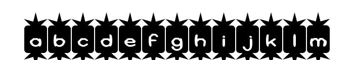 Positive Nhilism Font LOWERCASE