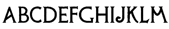 Possum Saltare NF Font UPPERCASE