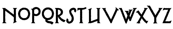 Possum Saltare NF Font LOWERCASE