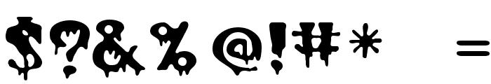 PostCrypt Regular Font OTHER CHARS